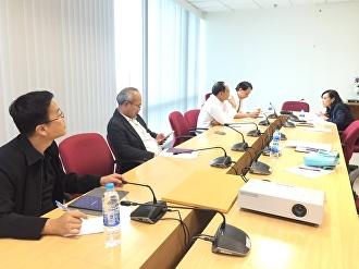ประชุมเตรียมงานกับคณะทำงาน สำนักงานกองทุนหมู่บ้านและชุมชนเมืองแห่งชาติ (สทบ) ครั้งที่ 2